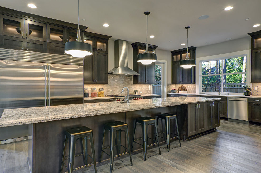 Modern kitchen remodel in Rancho Bernardo